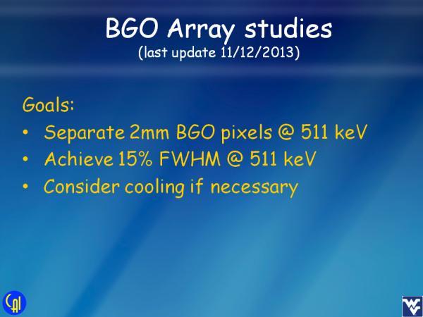 ArrayB-30035-144P-PCB BGO Studies Slide 1