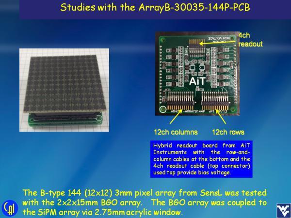 ArrayB-30035-144P-PCB BGO Studies Slide 2