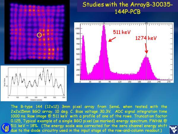 ArrayB-30035-144P-PCB BGO Studies Slide 5