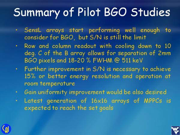 ArrayB-30035-144P-PCB BGO Studies Slide 7