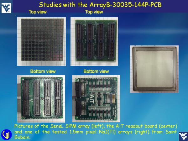 ArrayB-30035-144P-PCB NaI(Tl) Studies Slide 4