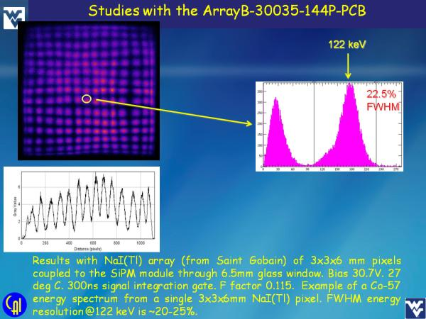 ArrayB-30035-144P-PCB NaI(Tl) Studies Slide 5