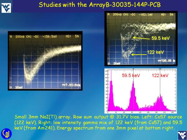 ArrayB-30035-144P-PCB NaI(Tl) Studies Slide 7