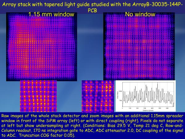 ArrayB-30035-144P-PCB Stacked LYSO Studies Slide 12