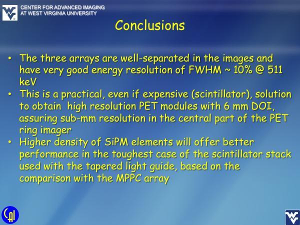 ArrayB-30035-144P-PCB Stacked LYSO Studies Slide 14