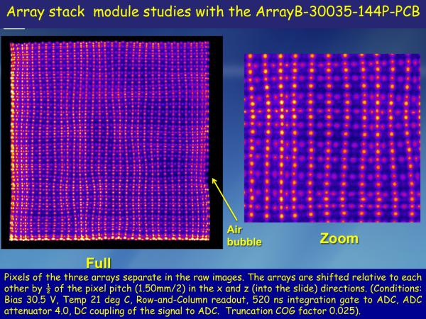 ArrayB-30035-144P-PCB Stacked LYSO Studies Slide 4