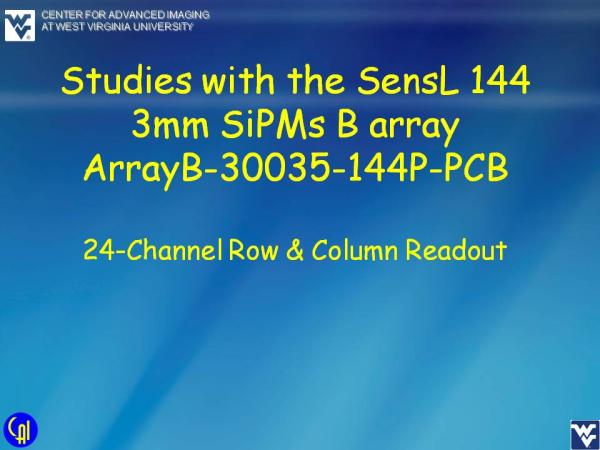 ArrayB-30035-144P-PCB Studies Slide 1