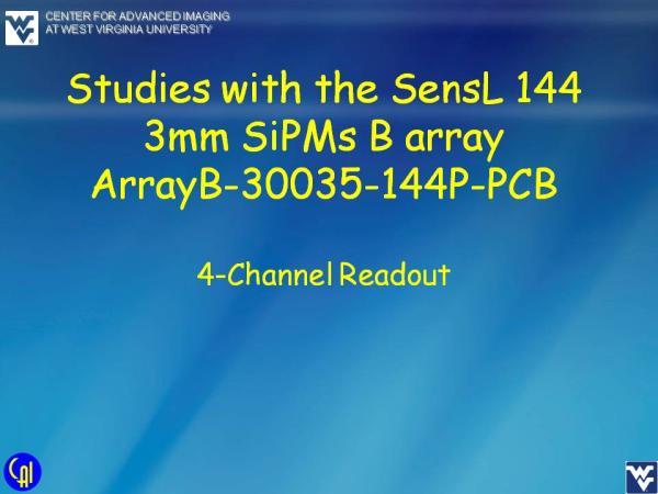 ArrayB-30035-144P-PCB Studies Slide 20