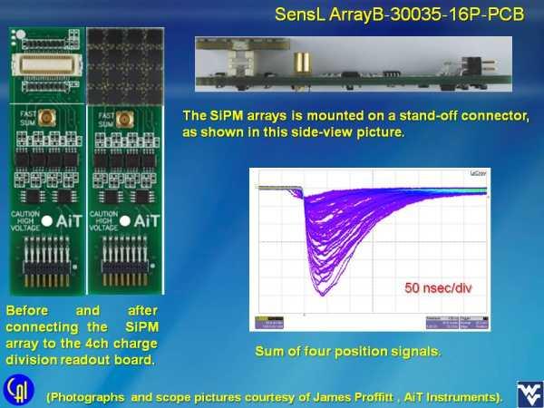 ArrayB-30035-16P-PCB 4ch Readout Studies Slide 2