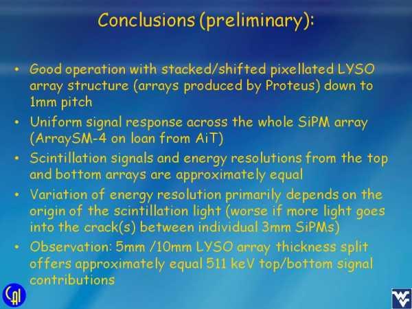 Stacked Scintillator Studies Slide 14