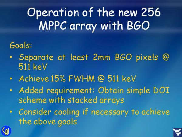 S12642X16 BGO Studies Slide 1