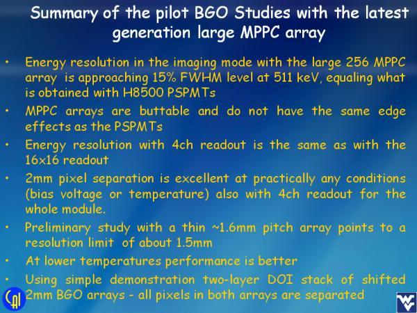 S12642X16 BGO Studies Slide 14