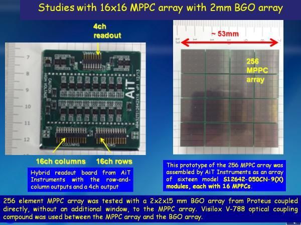 S12642X16 BGO Studies Slide 2
