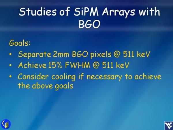 S12642 BGO Studies Slide 1