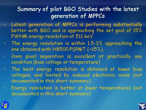 S12642 BGO Studies Slide 7
